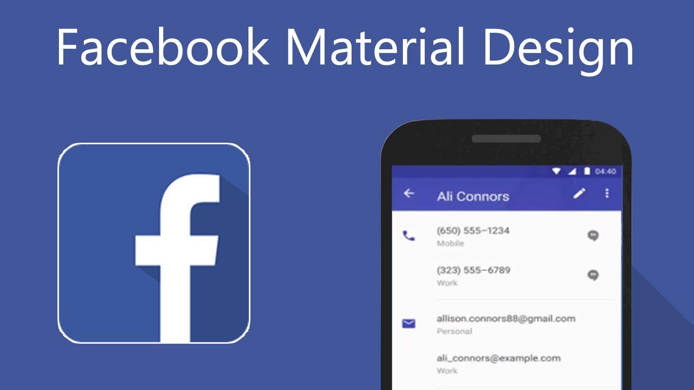 ผู้ใช้ Android เตรียมตัวพบ Facebook Messenger ในสไตล์ Material Design