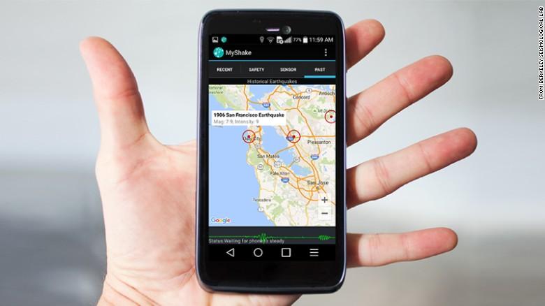 สมาร์ทโฟนช่วยชีวิตเราจากภัยแผ่นดินไหวได้แล้ว!