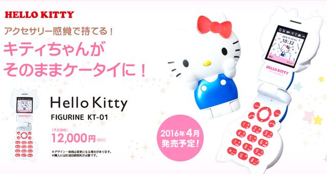 สาวกคิตตี้ห้ามพลาด!! Sanrio เปิดตัวมือถือ Hello Kitty