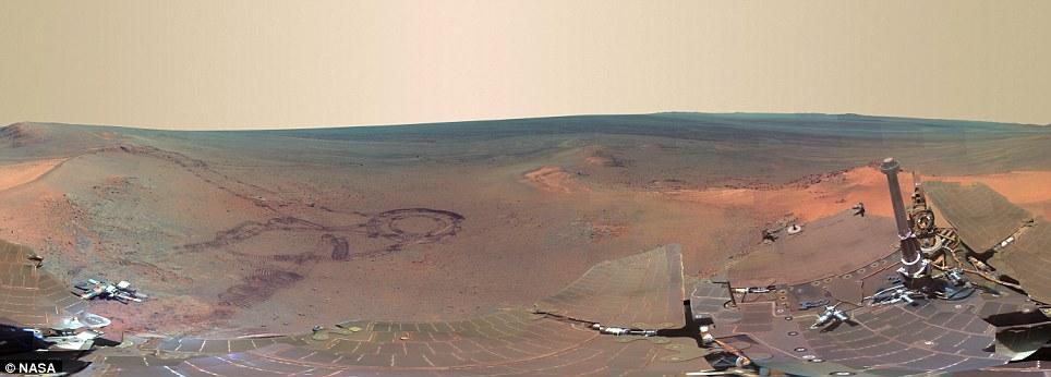 เผยภาพเคลื่อนไหวบนดาวอังคารจาก Facebook 360 องศา