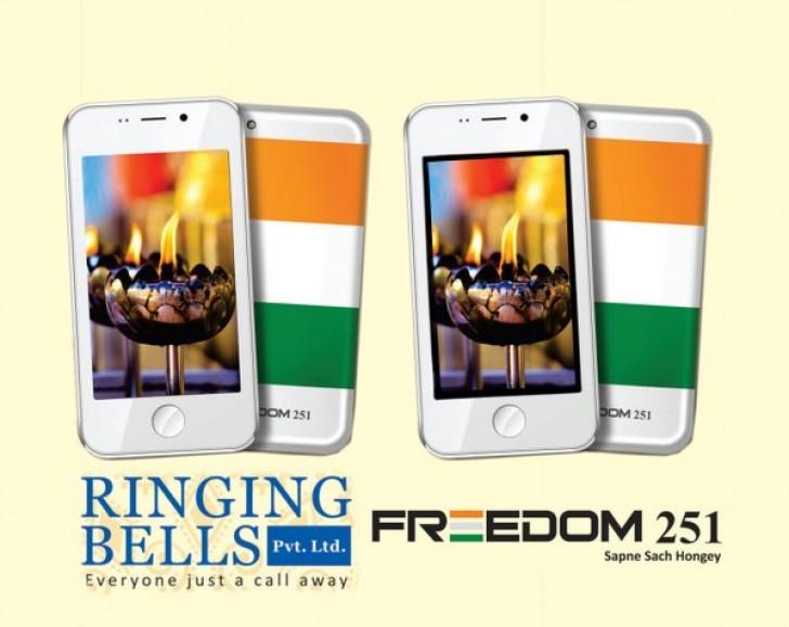 Freedom 251 สมาร์ทโฟนที่มีราคาเพียงแค่ 130 บาทเท่านั้น!!!