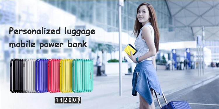 travelchargerluggageshapepowerbankTOPTAI