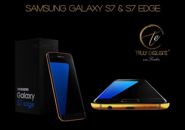 เปิดจองแล้วสำหรับ Samsung Galaxy S7 และ Galaxy S7 Edge สุดหรู ตัวเครื่องทำจากทอง 24K