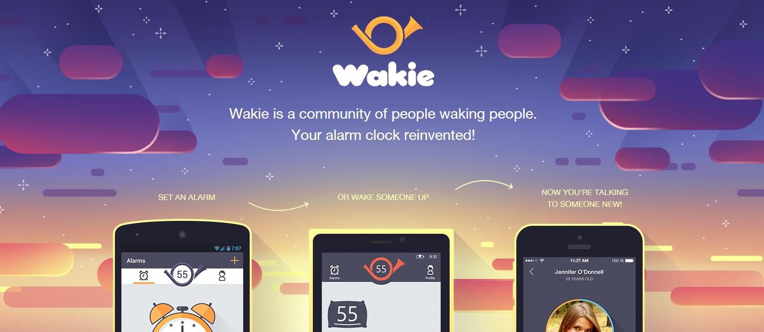 Wakie Talk to Strangers, Chat แอพนาฬิกาปลุกยุคใหม่แบบโซเชียล