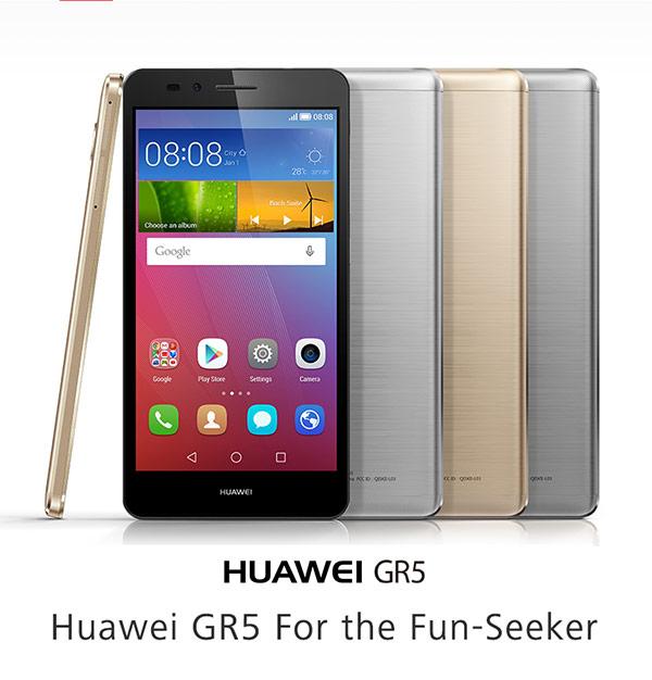 Huawei GR5 สมาร์ทโฟนหน้าจอ 5.5นิ้ว สเปคแรงราคาโดนใจ