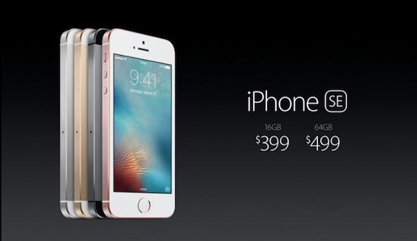 เปิดตัว iPhone SE ในรูปแบบของ iPhone 6s แบบย่อส่วน