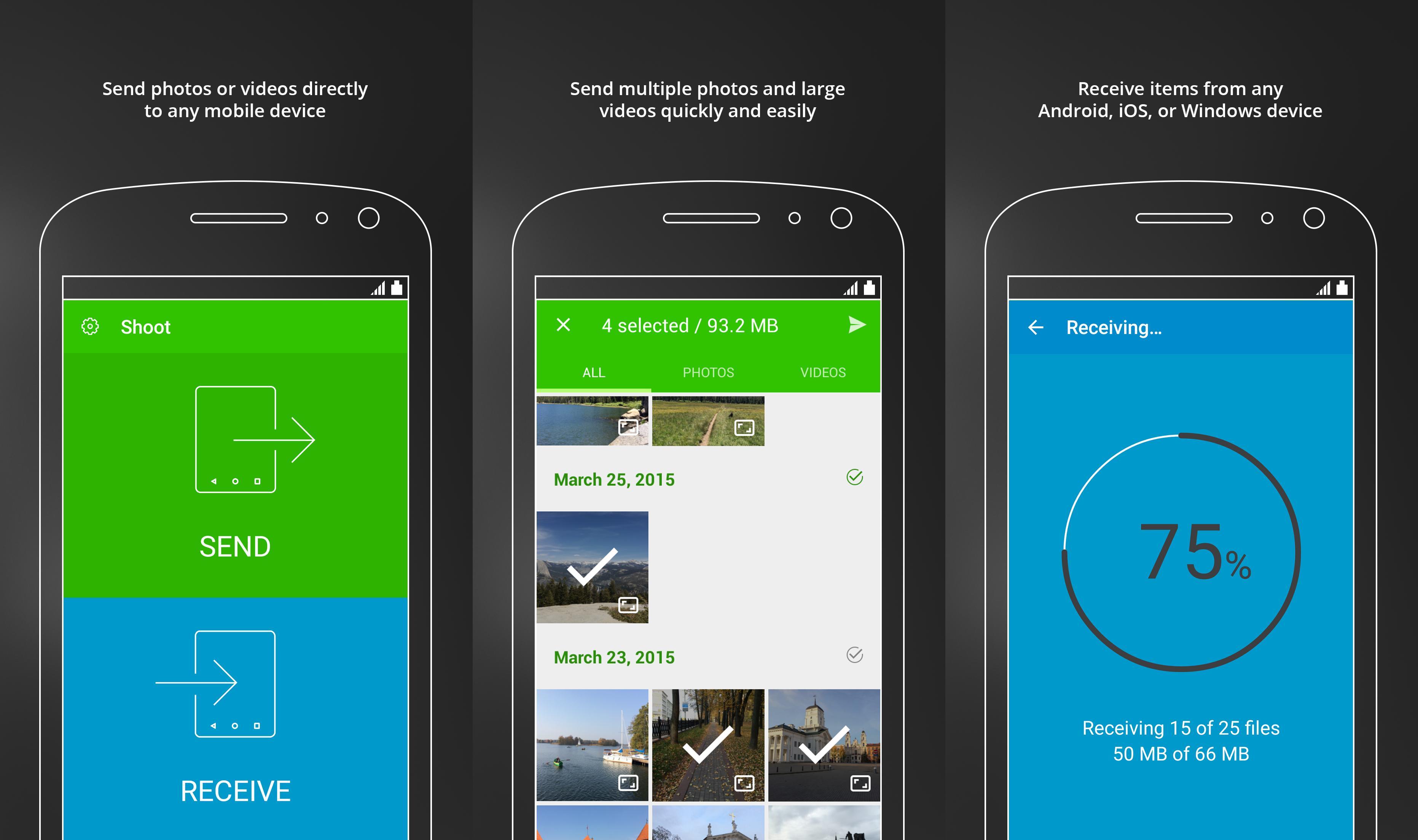 แชร์ไฟล์บนสมาร์ทโฟนด้วยแอพ BitTorrent Shoot