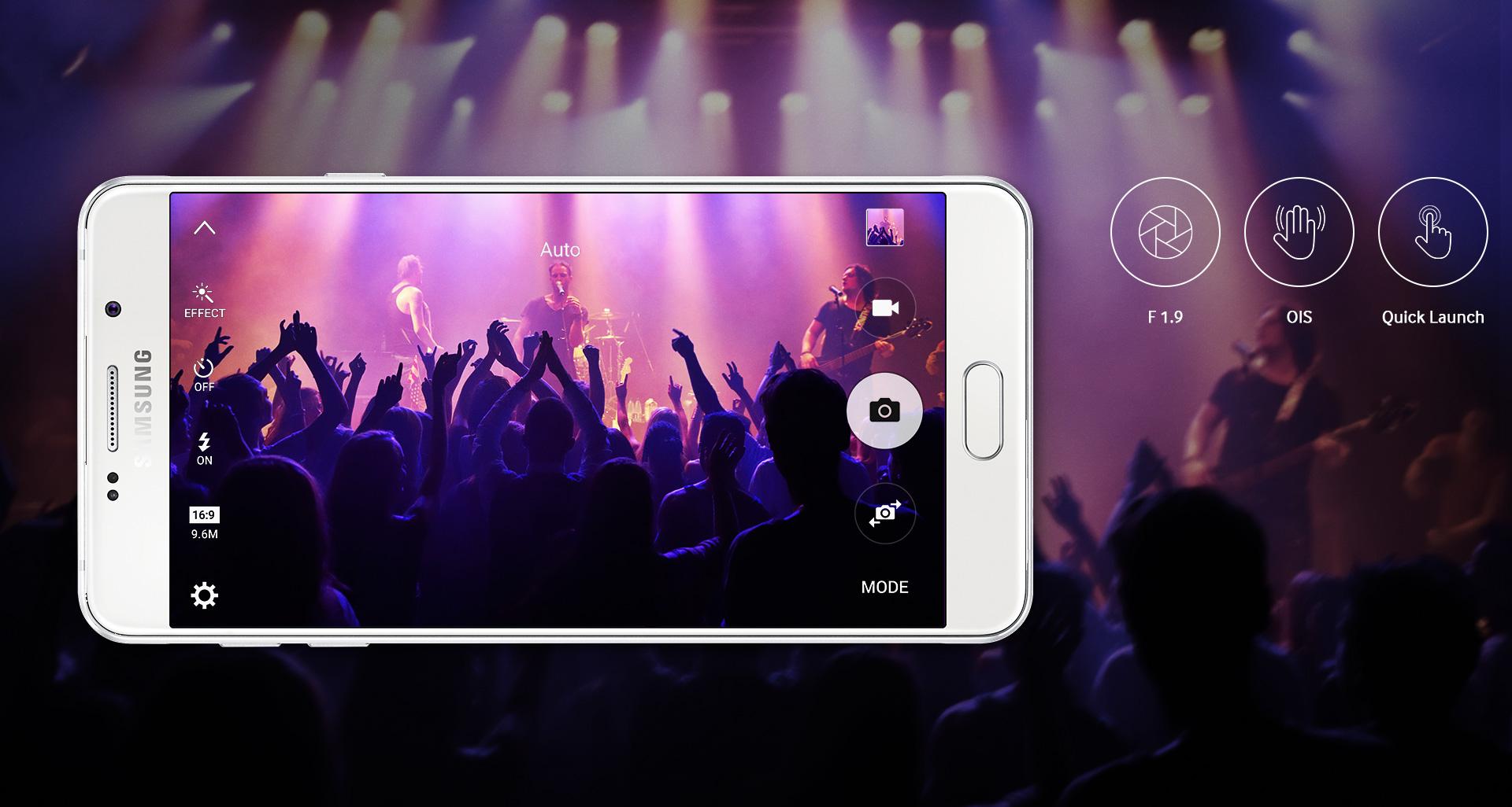 Samsung Galaxy A7 (2016) สมาร์ทโฟนดีไซน์ระดับพรีเมียม ใช้งานแอพพลิเคชันได้พร้อมกันสูงสุด 5 แอพพลิเคชัน ในหน้าจอเดียว