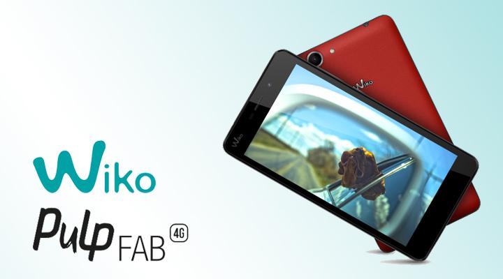 Wiko Pulp Fab 4G สมาร์ทโฟนสเปคคุ้มค่า ราคาเพียง 4,900 บาท