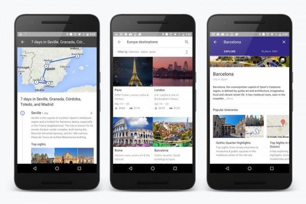 Google Search เพิ่มฟีเจอร์ Destinations ที่ช่วยวางแผนการท่องเที่ยวจากมือถือ