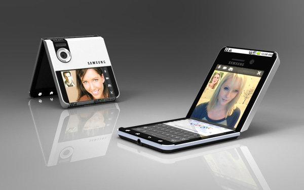 พัฒนาไปอีกขั้น Samsung จดสิทธิบัตร สมาร์ทโฟนพับได้