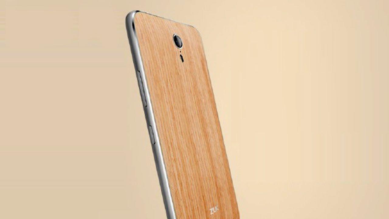 สุดเก๋ ZUK เปิดตัว ZUK Z1 สมาร์ทโฟนฝาหลังทำจากไม้โอ๊คแท้และไม้จันทร์
