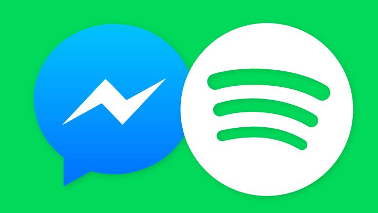 Facebook Messenger จับมือกับ Spotify ให้ผู้ใช้งาน Messenger ถูกใจเพลงไหนแชร์ได้เลย!