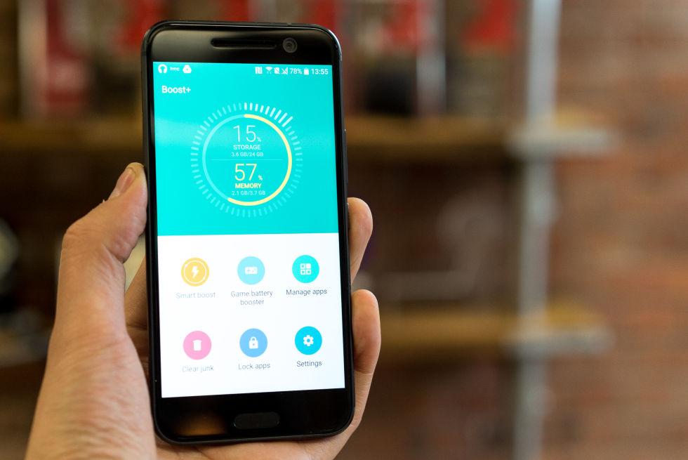 แอพพลิเคชั่น HTC's Boost+สำหรับเพิ่มประสิทธิภาพบนอุปกรณ์ของ Android ปล่อยให้ดาวน์โหลดใน Play Store แล้ววันนี้