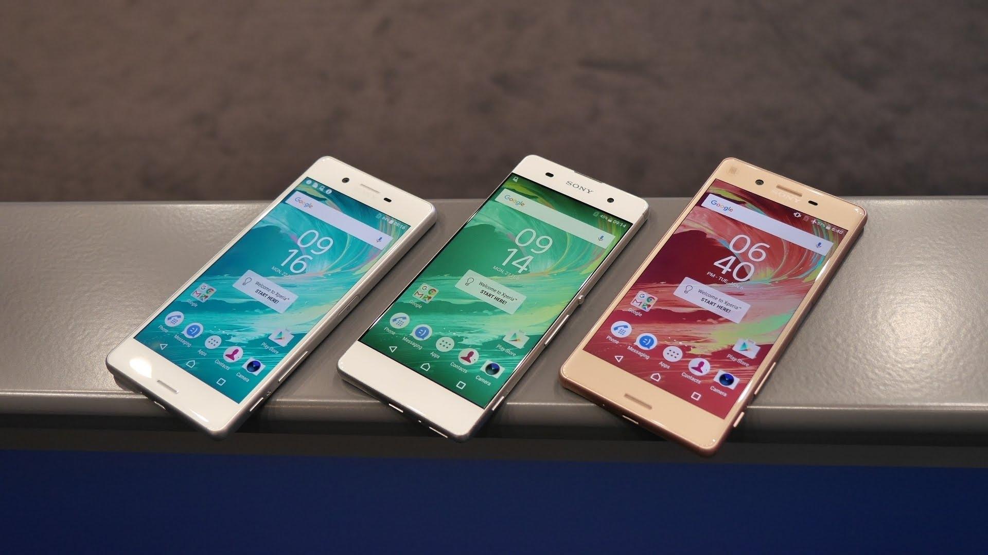 Sony Xperia X จะวางขายในสหราชอาณาจักรวันที่ 20 พฤษภาคม และเปิดตัวรุ่น XA ในวันที่ 10 มิถุนายนนี้