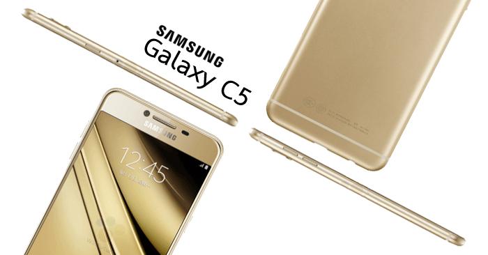 Samsung Galaxy C5 สมาร์ทโฟนดีไซต์หรู หน้าจอ  5.2 นิ้ว พร้อมRam 4GB Rom 32