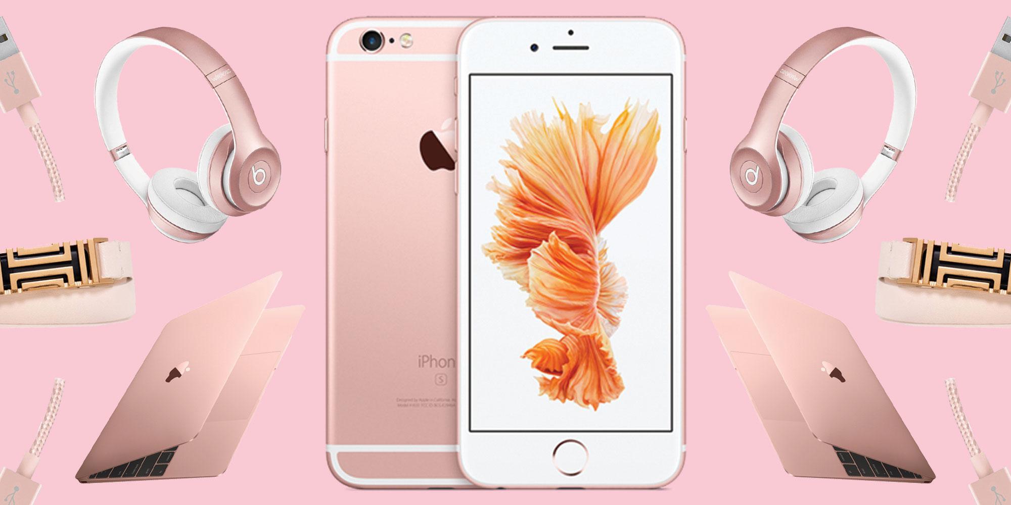 8 สินค้าไอทีสีชมพู Rose Gold สวยๆ เพื่อผู้หญิงโดยเฉพาะ