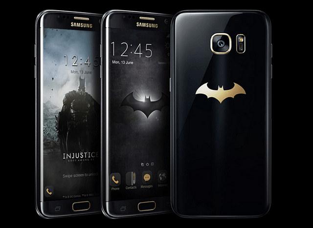 Samsung เปิดตัว Galaxy S7 edge เวอร์ชั่น Injustice Edition สาวกอัศวินรัตติกาลห้ามพลาด!!