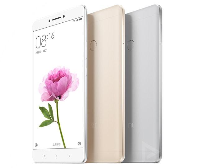 Xiaomi เปิดตัวสมาร์ทโฟนใหม่  Mi Max หน้าจอใหญ่สะใจ  6.44 นิ้ว พร้อมความจุแบตเตอรี่ 4850mAh