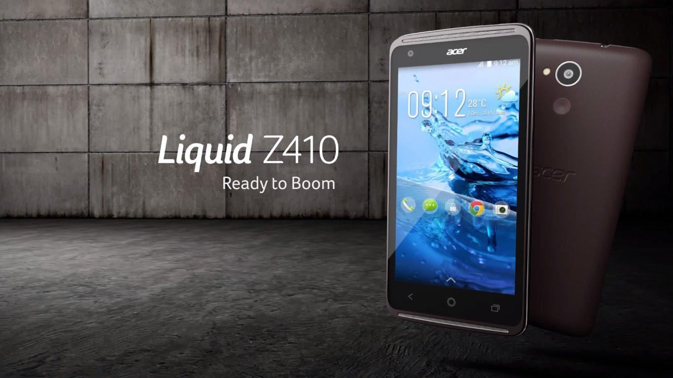 Acer Liquid Z410 สมาร์ทโฟนรองรับ 2 ซิม หน้าจอ 4.5 นิ้ว ราคาเพียง 4,990 บาท