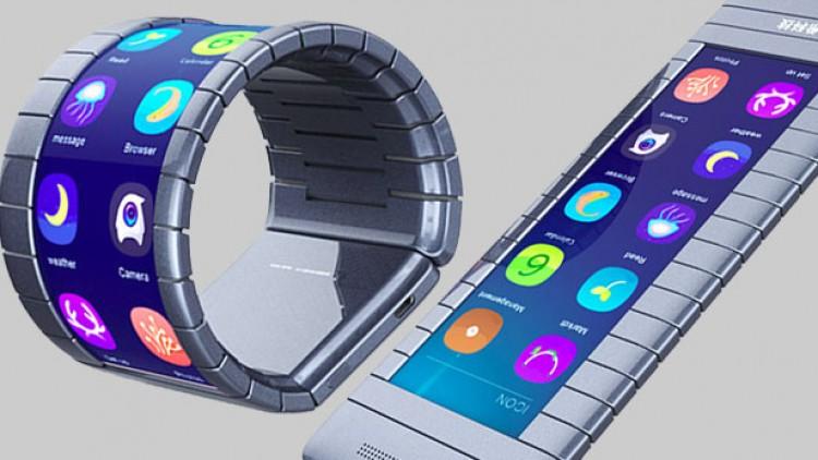 จีนเปิดตัวสมาร์ทโฟนหน้าจอม้วนได้รุ่นแรกของโลก ที่เป็นทั้งสมาร์ทโฟนและสมาร์ทวอทช์