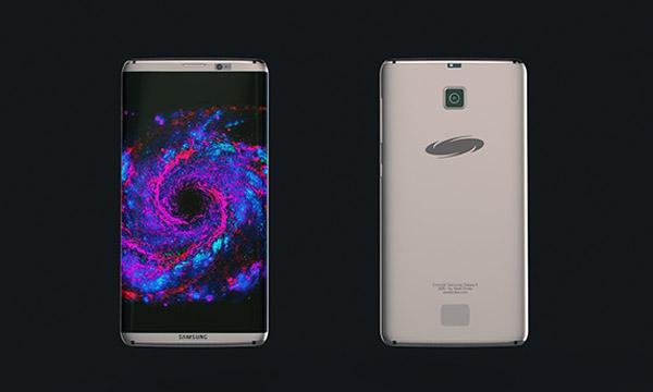 เผยภาพคอนเซปต์ Samsung Galaxy S8 ดีไซน์สวยสุดล้ำ พร้อมโปรเจ็คเตอร์ในตัว