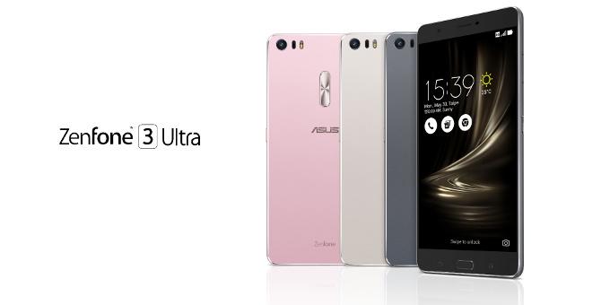 Asus เปิดตัว Zenfone 3 Ultra หน้าจอขนาดใหญ่ 6.8 นิ้ว แถมยังใช้งานเป็น Powerbank ได้อีก