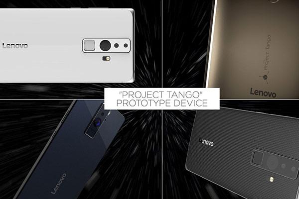 Lenovo จับมือ Google เตรียมเปิดตัวสมาร์ทโฟน Project Tango ในวันที่ 9 มิถุนายนนี้