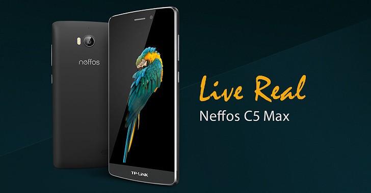 TP-LINK พร้อมวางจำหน่ายสมาร์ทโฟน Neffos C5 Max หวังรุกตลาดสมาร์ทโฟน 4G ในประเทศไทย