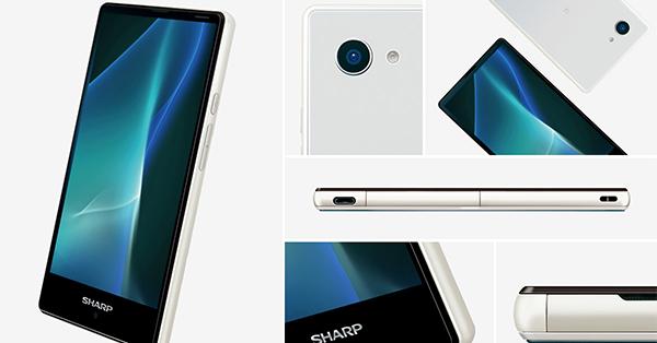 Sharp เปิดตัว Aquos mini SH-03H สมาร์ทโฟนหน้าจอไร้ขอบ กล้องหลัง 13 ล้านพิกเซล พร้อมระบบกันน้ำดี