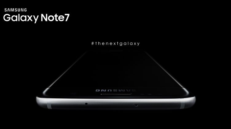 ภาพหลุด Samsung Galaxy Note 7 ทั้งด้านหน้าและด้านหลังพร้อม S Pen แบบชัดๆ!!!
