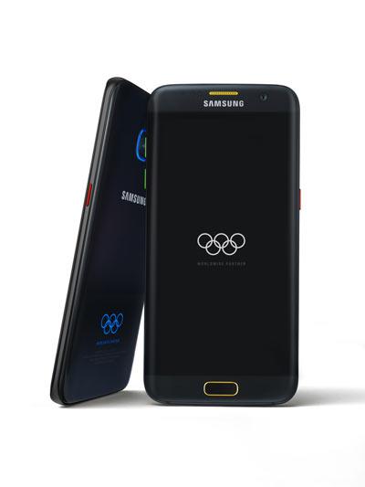 Samsung เปิดตัว Galaxy S7 edge รุ่นพิเศษ ต้อนรับ โอลิมปิก 2016
