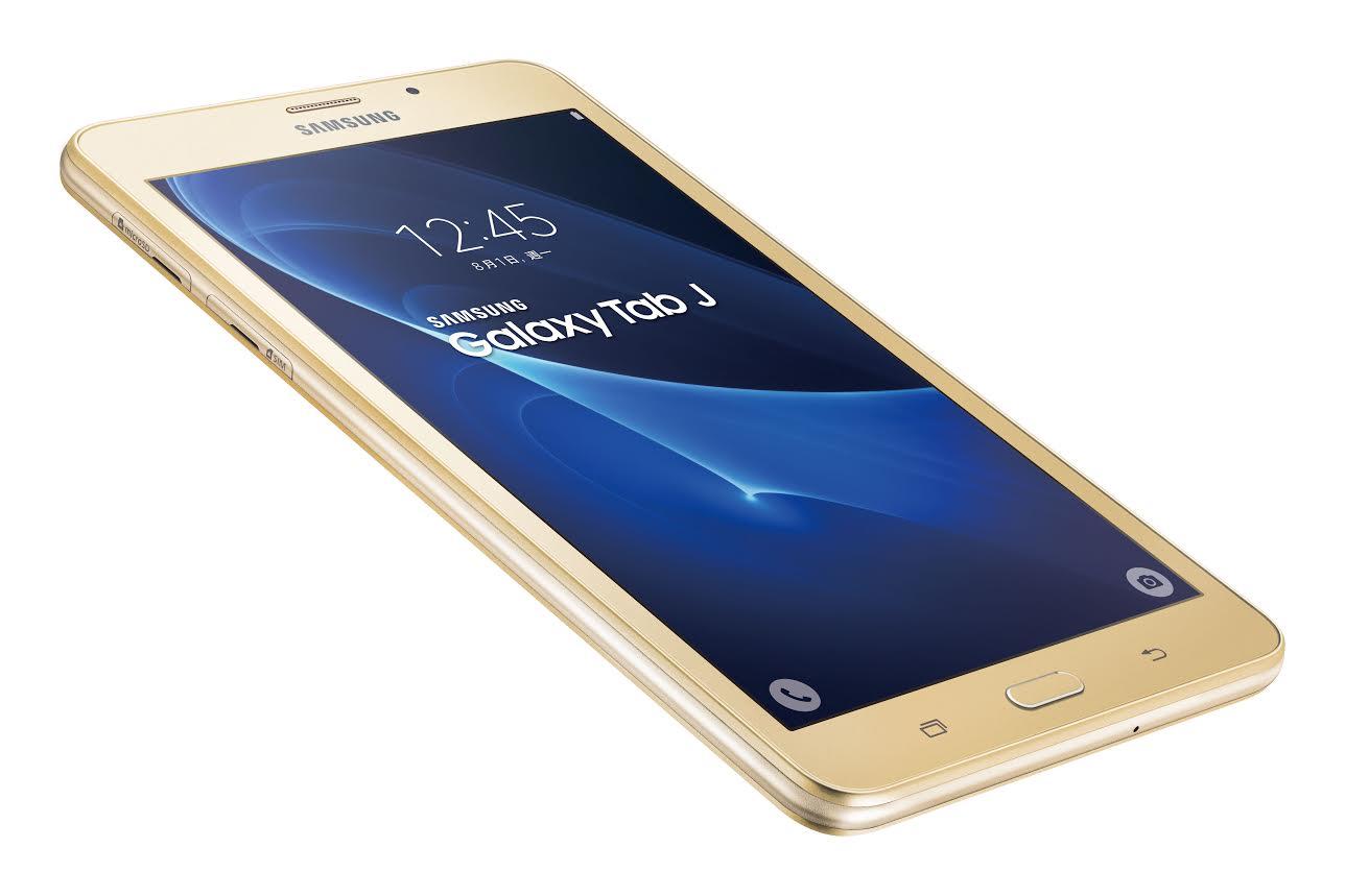 Samsung เปิดตัว Galaxy Tab J แท็บเล็ตรุ่นประหยัด มาพร้อมหน้าจอแสดงผลกว้าง 7 นิ้ว