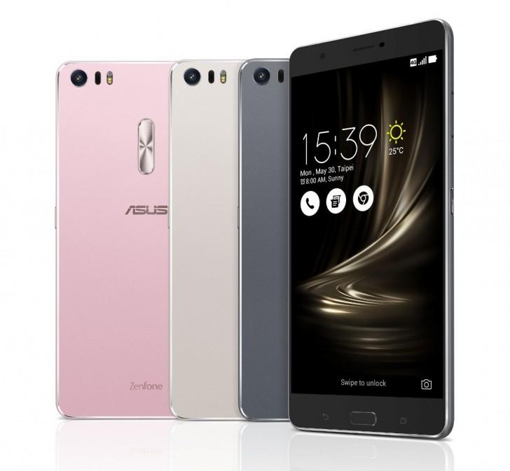 Asus เปิดตัว ZenFone 3 Deluxe สมาร์ทโฟนรุ่นท็อป มาพร้อมกับซีพียู Snapdragon 821 ความเร็ว 2.4GHz กล้องหลังมีความละเอียด 23Mp