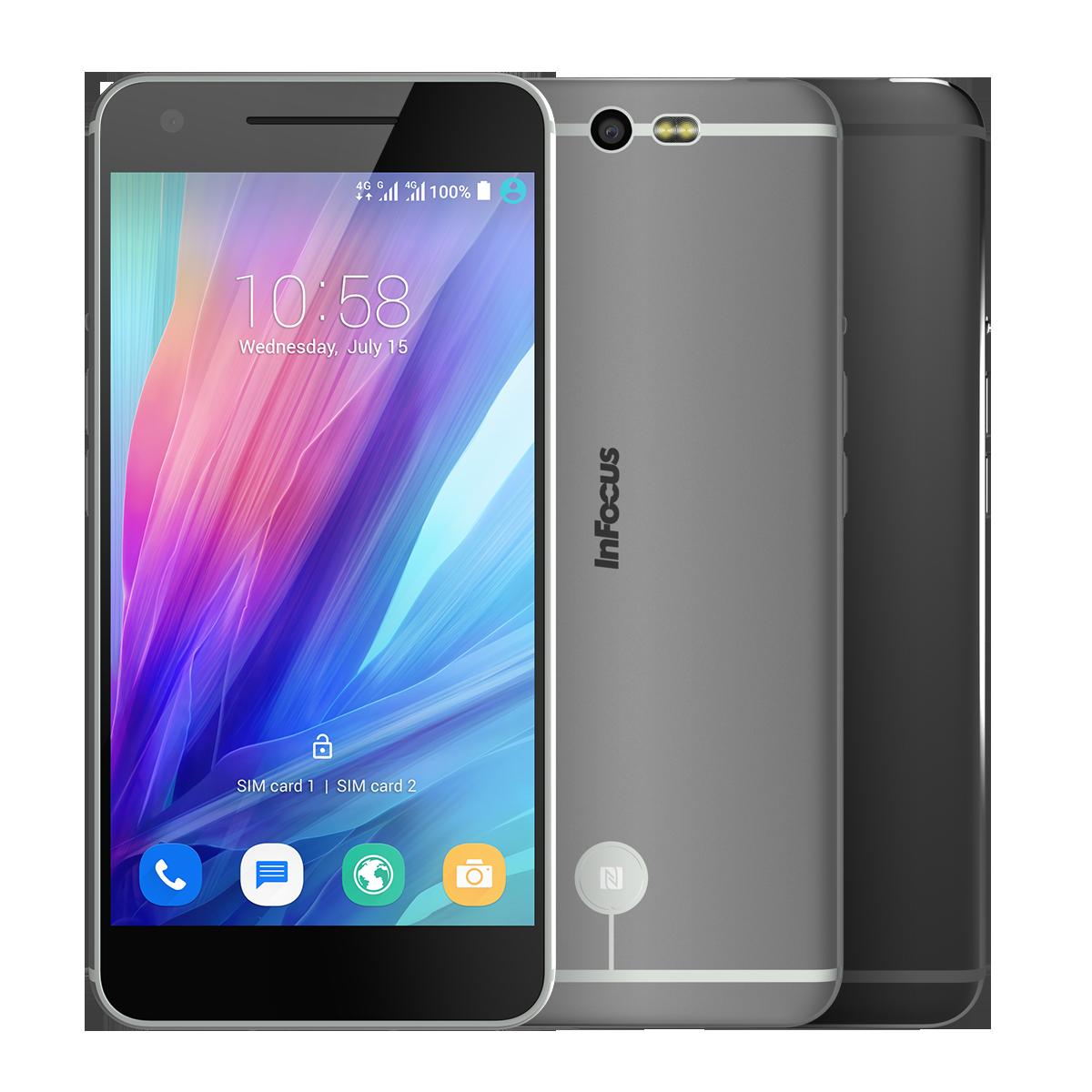 InFocus M812A สมาร์ทโฟนสเปคดีระดับพรีเมี่ยม  หน้าจอ IPS ขนาดใหญ่ 5.5 นิ้ว ความละเอียด Full HD ในราคา 12,990 บาท