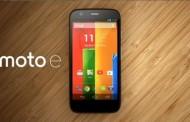 Motorola เปิดตัว Moto E รุ่นที่สามสุดประหยัดเพียง 4,600 บาทเท่านั้น!!!