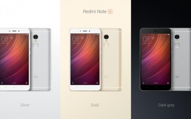 Xiaomi เปิดตัว Redmi Note 4 สมาร์ทโฟนรุ่นใหม่ล่าสุด หน้าจอ  5.5 นิ้ว ความละเอียด Full HD  ความจุแบตเตอรี่ 4,100mAh ในราคาไม่ถึงหมื่น!!