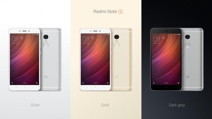 Xiaomi เปิดตัว Redmi Note 4 สมาร์ทโฟนรุ่นใหม่ สเปคจัดเต็มในราคาไม่ถึงหมื่น!