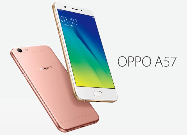 เปิดตัว OPPO A57 สมาร์ทโฟนรุ่นใหม่ ชูจุดเด่นเน้นกล้องหน้า 16 ล้านพิกเซล, แรม 3GB,  CPU Snapdragon 435 ราคาเปิดตัวเพียง 8,xxx บาท