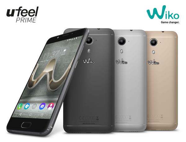 Wiko U FEEL Prime สมาร์ทโฟนสเปคแรง หน้สจอ 5 นิ้ว พร้อมแรม 4GB พร้อมกล้องหลัง 13ล้านพิกเซล ที่มาพร้อมราคาเพียง 7,990 บาท