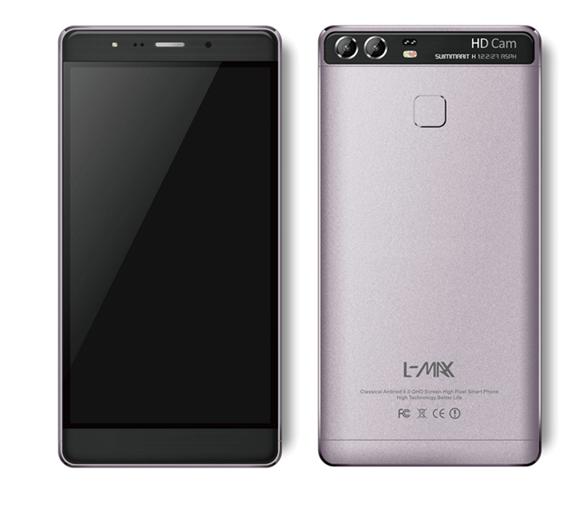 L-MAX SILVER 1สมาร์ทโฟนสเปคดี หน้าจอใหญ่ 6 นิ้ว กล้องหลัง 8 ล้านพิกเซล พร้อมแบต 3,800 mAh ราคาเพียง 3,790 บาท