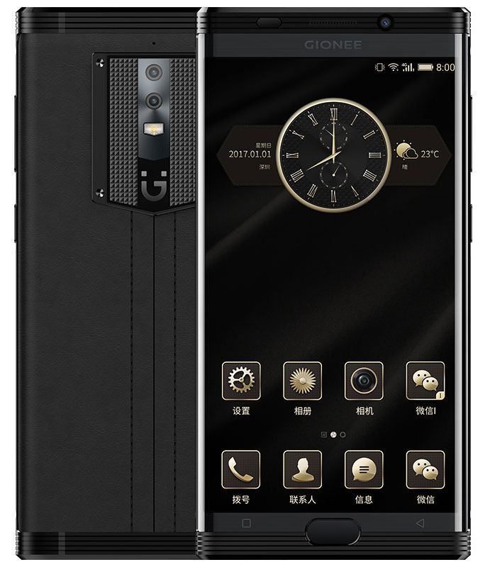 เปิดตัว Gionee M2017 สมาร์ทโฟนแรมสูง 6GB แบตความจุถึง 7000 mAh พร้อมดีไซน์หรูหราฝาหลังหนังจระเข้