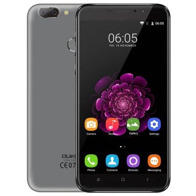Oukitel U20 Plus สมาร์ทโฟนหน้าจอ 5.5 นิ้ว กล้องหลังคู่ แรม 2G รองรับสแกนลายนิ้วมือ ราคาเพียง 4,xxx  บาท