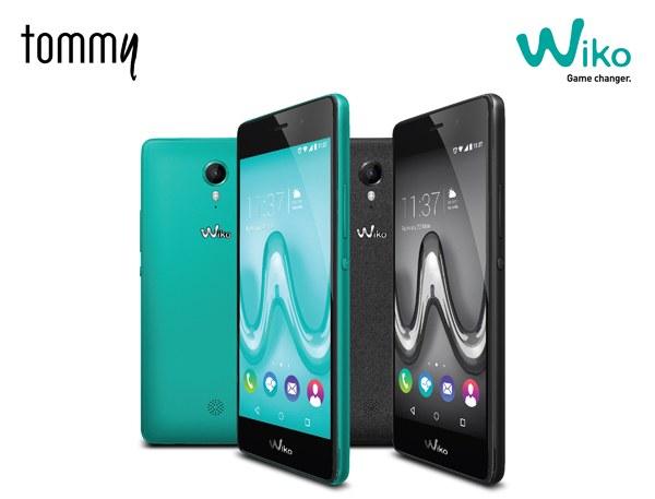 Wiko TOMMY สมาร์ทโฟนหน้าจอใหญ่ 5 นิ้ว รองรับ 4G พร้อมกล้องหน้าเซลฟี่ 5 ล้านพิกเซล ในราคาสบายกระเป๋าเพียง 3,990 บาท