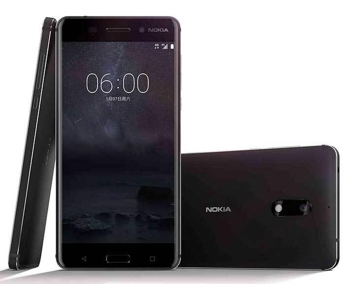เปิดตัว Nokia 6 สมาร์ทโฟนหน้าจอ 5.5 นิ้ว ความละเอียด Full HD ระบบปฎิบัตการAndroid, CPU Snapdragon 430