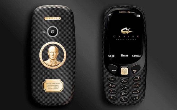 เปิดตัว  Nokia 3310 Supremo Putin ตัวเครื่องออกแบบมาพิเศษสักรูปทองคำ!!