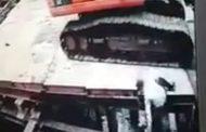 [คลิป] วินาทีชีวิตเจ้าสัวโรงน้ำแข็งพลาดพลัดตกจากตึกลึก25เมตร