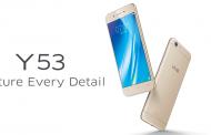 Vivo Y53 สมาร์ทโฟนสเปคดี หน้าจอ 5 นิ้ว แรม 2GB กล้องหลัง 8 ล้านพิกเซล พร้อมวางจำหน่ายแล้วในราคาเพียง 4,990 บาท