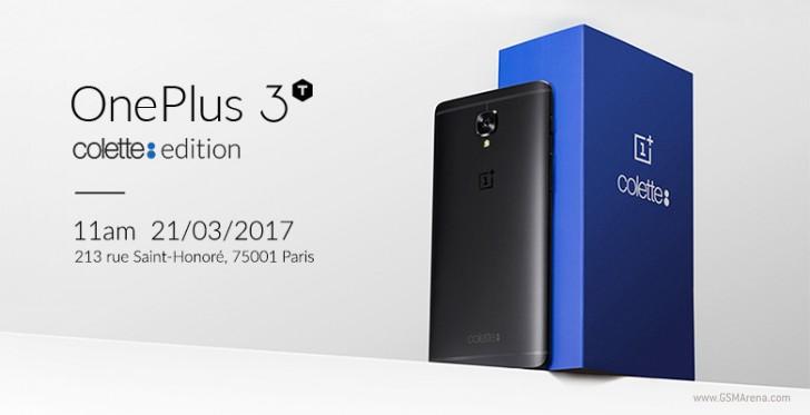 เปิดตัว OnePlus 3T colette edition เป็นสมาร์ทโฟนรุ่นพิเศษ ที่มีเพียงแค่ 250 เครื่องเท่านั้น!!