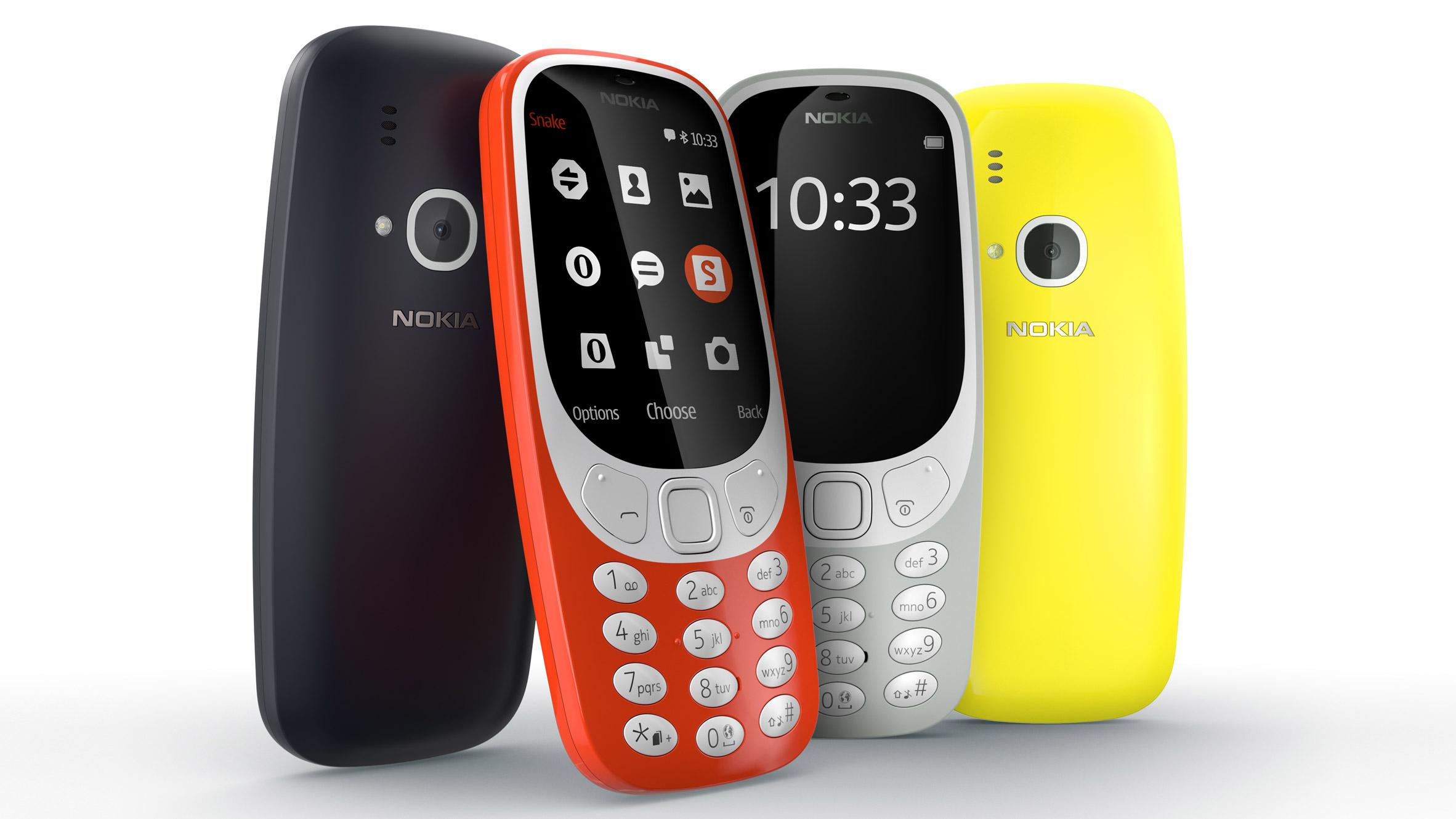 เปิดตัว Nokia 3310 รุ่นใหม่ สีสันสดใสพร้อมกล้องหลัง และแบตเตอรี่สุดอึดสแตนบายได้เป็นเดือนในราคา 1,800 บาท